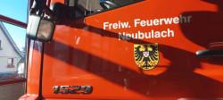 Hilfeleistungslöschgruppenfahrzeug Türe Fahrerseite mit Wappen Neubulach