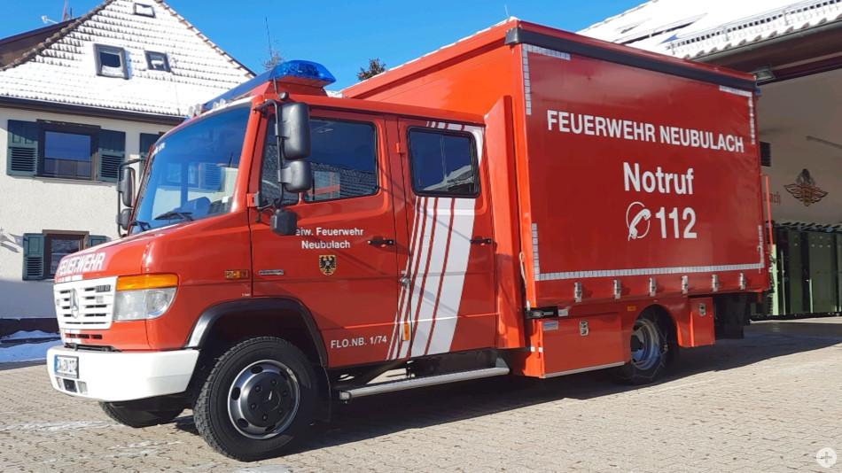 Florian Neubulach 1/74 - GW-L1 - Gerätewagen Logistik 1