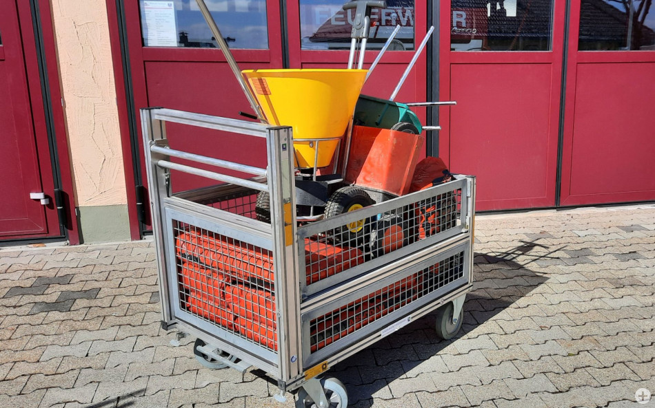 Rollcontainer Oelwehr