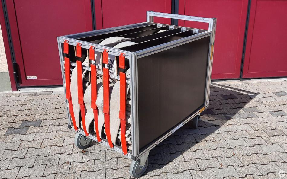 Rollcontainer Schlauch 1