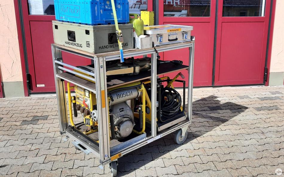 Rollcontainer Technische Hilfeleistung