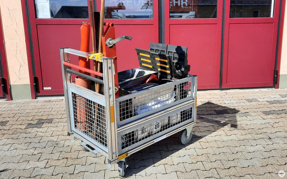 Rollcontainer Transport