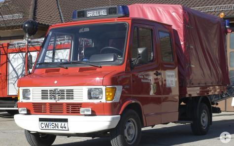 Kleineinsatzfahrzeug Transport (KEFT) - ehemaliges Fahrzeug der Abteilung Neubulach - einst eine Spende von Daimler Benz
